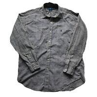 Ralph Lauren Men's Long Sleeve Blake Plaid Shirt Brown Beige  Black Size M - I