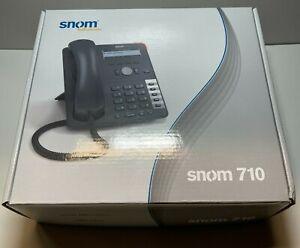 **NEW IN BOX** GENIUNE SNOM 710 VoIP PoE VoIP Phone