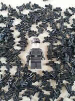 LEGO - bulk star wars blaster pistols packs!!!! WEAPONS FOR MINIFIGURES
