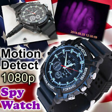 Mini DVR Waterproof HD 1080P Spy Hidden Watch Camera Night Vision Camcorder