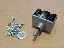 HONEYWELL  TL Series 3 Position 4 Pole Toggle Switch  4TL1-12 MS 27406-1  483099