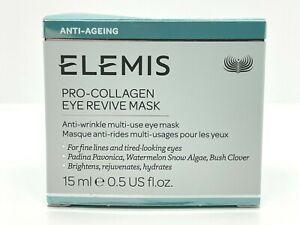 Elemis Pro Collagen Eye Revive Mask 15 ml / 0.5 OZ Full Size Free Shipping