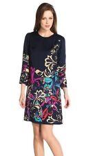 Viscose 3/4 Sleeve Short/Mini Tunic Dresses for Women