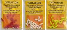 FLOATING POP UP MAGGOTS IMITATION BAIT FOR COARSE CARP FISHING HAIR RIGS POP UPS