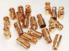 10Paar Goldstecker 6mm für RC Modellbau und Elektronik