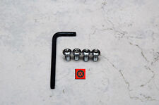 Type M 4 pcs Anti-Theft Security Screws for HONDA REAR License Plate Frame