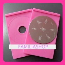 Support/Holder Base for Plate Konad Stamping Nail