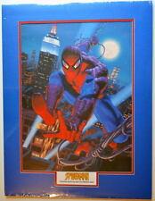 SPIDER-MAN 18 x 24 MATTED PRINT Frame Ready Marvel Greg & Tim Hildebrandt