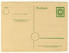 SBZ - GANZSACHE OSTSACHSEN P8a ungebraucht - BÜTTENRAND (8554/314)