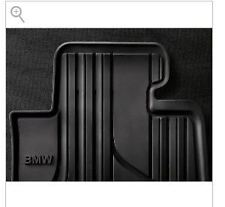 BMW 3 Series Xi F30 2012-2017 Rubber All Weather Floormats Black Front Set OEM