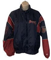 Vintage Youth Large Atlanta Braves Starter Windbreaker Jacket MLB BASEBALL