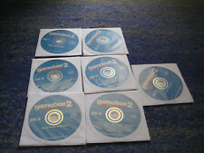 50 Game Box PC classico dos babarian Earthworm Jim l'ufficio Lega Anseatica patrizi ecc.