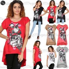 Viscose Floral T-Shirts for Women