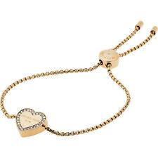 Michael Kors MKJ5389710 Armband IP-Gold Herz Glassteine
