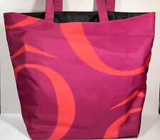 Lancôme Tote Bag Orange & Fuchsia