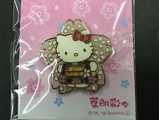 New Hello Kitty Pinbadge Sakura Cherry Blossoms from JAPAN