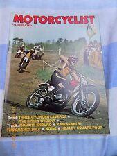 Motor Cyclist/Laverda 1000/Healey Ariel/Kawa H1/Sachs Wankel/Monark 125/T150