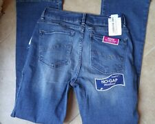 NWT Lee Curvy Fit Bootcut Jeans Size 6 Short Hidden Cell Phone Pocket
