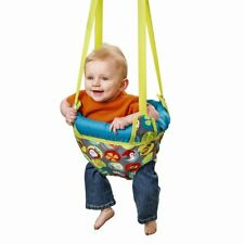 "Evenflo ExerSaucer Door Jumper Baby Bouncer Swing ""Safari Trek"""