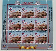 Armenien Artsakh Bergkarabach Briefmarken Armee Shuschi 2017