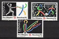 Spain - 1989 Olympic games Barcelona (III) - Mi. 2905-07 MNH