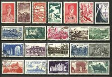 FRANCE, SELECTION OF 22 DIFFERENT, VERY NICE LOT FOR A GOOD PRICE