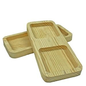 Wooden Feeding Bowl for Mice, Hamster, Chinchilla, Guinea Pig, Rabit Dry Food