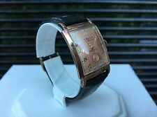 *Rare* Vintage Gruen Curvex Rose Gold Plated Manual Movement Watch GORGEOUS