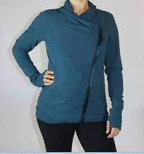 Lululemon Turn Jacket size 4 Alberta Lake NWT Teal Green Blue French Terry NEW