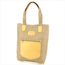 Gucci Tote bag Beige PVC Leather Woman unisex Authentic Used T8985