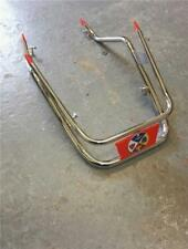 Chrome Front Mudguard Bumper Crash Bar Vespa PX 125 150 200 LML Star Mod Red