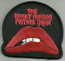 ROCKY HORROR PIC SHOW CULT CLASSIC MUSICAL COMEDY HORROR FILM ROCKABILLY PATCH