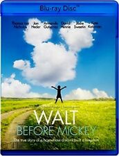 Walt Before Mickey Young Pre-Success Life Disney Indie Documental Drama Blu-ray
