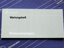 Original Mercedes Scheckheft / Wartungsheft für R107 R129 10000km Intervall NEU!