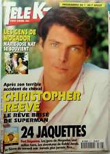 CHRISTOPHER REEVE => 3 PAGES 1995 FRENCH CLIPPING