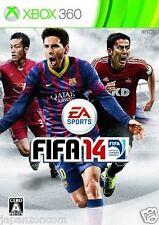 Used Xbox 360  FIFA 14 MICROSOFT JAPAN JP JAPANESE JAPONAIS IMPORT