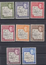 FALKLAND IS.1946-9 maps set-mint hinged