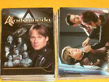 Gene Roddenberry's ANDROMEDA Season One Complete Base Set Of 90 Trading Cards