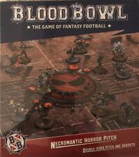 BloodBowl nigrománticas horror Pitch y piragua Set Nuevo Y En Caja Nuevo Sellado Juegos wirkshop