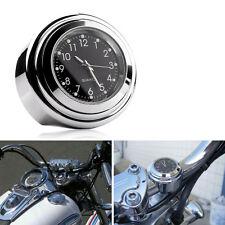 "7/8"" - 1"" Reloj Moto Universal Impermeable Manillar Para Motocicleta Bicicleta"