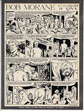 Bob Morane  le collier de Civa dans FA planches 1 et 2