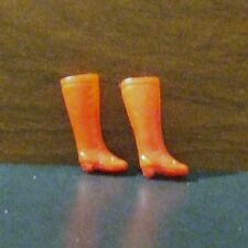 VINTAGE TOPPER HIGH TOP-LONG TOE RED BOOTS LOT 8