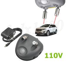 110V Dual Laser Sensor Car Garage Parking Assist Aid Ceiling Stop Light System