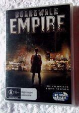Boardwalk Empire : Season 1 (DVD, 2012, 5-Disc ) R-4, LIKE NEW, FREE SHIPPING