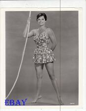 Joyce Taylor busty leggy barefoot VINTAGE Photo Atlantis The Lost Continent