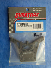 DURATRAX SHOCK TOWER REAR GRAPHITE EVADER BUGGY DTXP9259 NIP