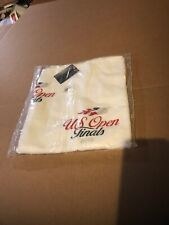 New Us Open Finals Players Towel White 2013 Usta 24x42 Rare