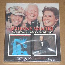 JOHNNY WINTER - SAINTS & SINNERS / JOHN DAWSON WINTER III- CD SIGILLATO (SEALED)