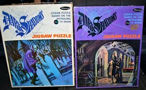 1969 The Dark Shadows vintage puzzle lot Barnabas Collins Whitman Boxed