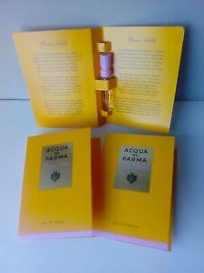 Acqua di Parma ROSA NOBILE EDP (lotto) 3 x 1,5ml campione spray sample